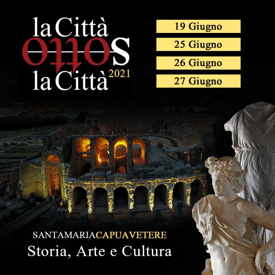 Presentazione evento SANTA MARIA C.V., RITORNA LA CITTÀ SOTTO LA CITTÀ
