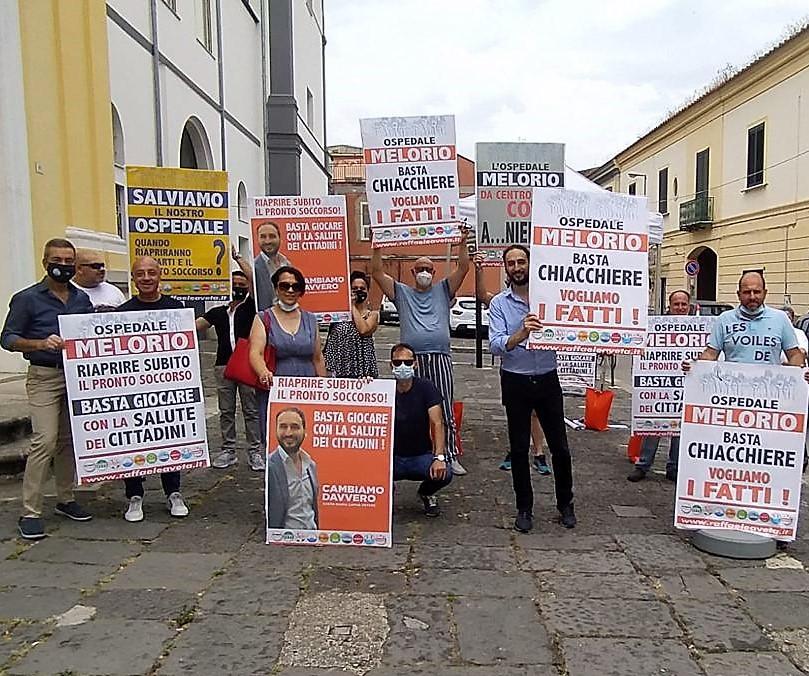 %name PROTESTE ALLOSPEDALE MELORIO: LINTERVENTO DI AVETA
