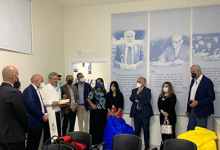 inaugurazione europe direct1 CASERTA, INAUGURATO IL NUOVO FRONT OFFICE DEL CENTRO EUROPE DIRECT