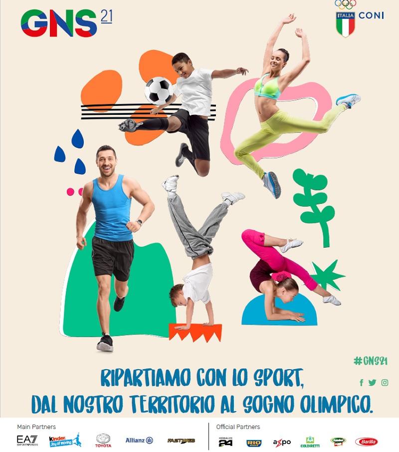 sport DOMENICA GIORNATA NAZIONALE PER LA RIPARTENZA DELLO SPORT