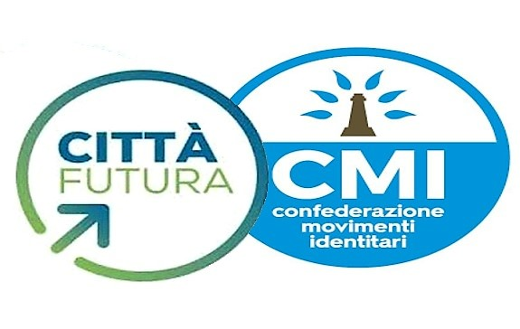 CITTA FUTURA CMI AMMINISTRATIVE CASERTA, LA CONFEDERAZIONE MOVIMENTI IDENTITARI ADERISCE AL PROGETTO CIVICO CITTÀ FUTURA