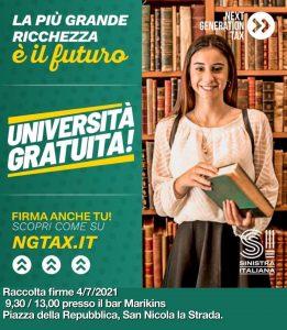 IMG 20210626 WA0036 261x300 SINISTRA ITALIANA, BANCHETTO PER PARLARE DELLA NEXT GENERATION TAX