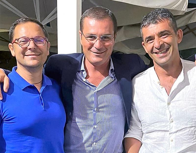 Zannini con Martiello e Ferrara ELEZIONI AMMINISTRATIVE A SPARANISE, FERRARA (CONSORZIO IDRICO TERRA DI LAVORO) SCENDE IN CAMPO CON MARTIELLO