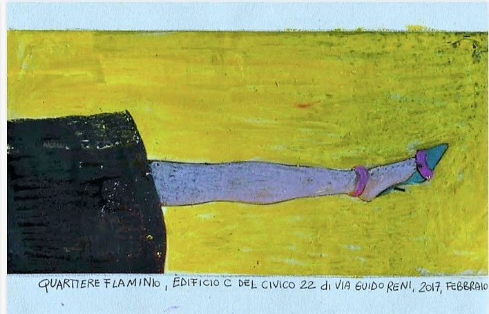 disegno di Lidia Bachis 1 LO SMEMBRAMENTO