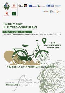 locandina green 212x300 MOBILITÀ SOSTENIBILE E BENI CONFISCATI, TOUR CICLISTICO A CASAL DI PRINCIPE