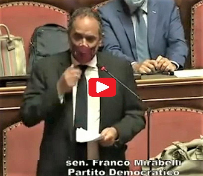 mirabelli CARCERI, LINTERVENTO IN SENATO DI FRANCO MIRABELLI (PD)