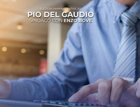DEL GAUDIO BOVE COMUNALI CASERTA, DEL GAUDIO: RIORGANIZZARE LA MACCHINA COMUNALE