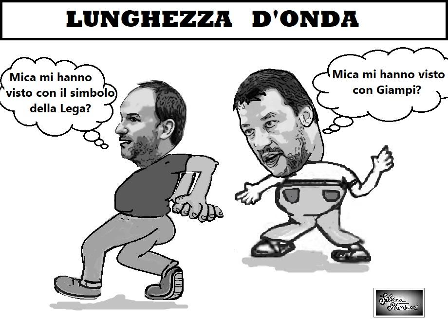 LEGA LUNGHEZZA DONDA LEGA IN CORSA A CASERTA SENZA SIMBOLO…PUDORE O TIMIDEZZA?