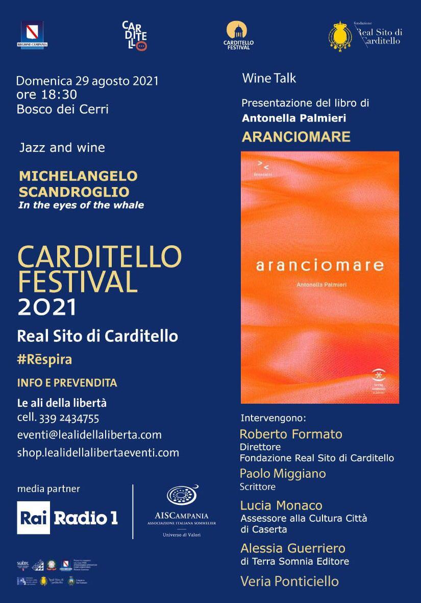 LOCANDINA CARDITELLO 29 AGOSTO 2021  CARDITELLO FESTIVAL È ARANCIOMARE