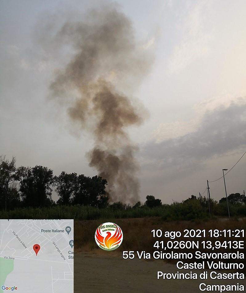 Photo 1628622504081 FIRE ANGELS CASTEL VOLTURNO: LIMPEGNO CONTRO GLI INCENDI BOSCHIVI
