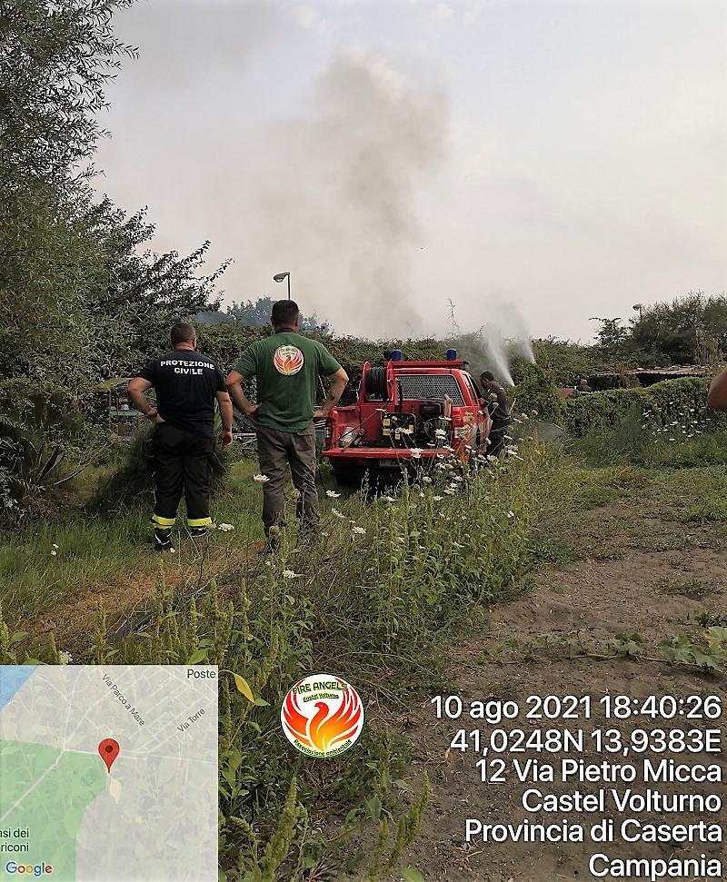 Photo 1628622507917 FIRE ANGELS CASTEL VOLTURNO: LIMPEGNO CONTRO GLI INCENDI BOSCHIVI