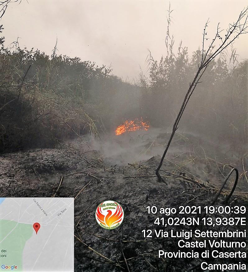 Photo 1628622513491 FIRE ANGELS CASTEL VOLTURNO: LIMPEGNO CONTRO GLI INCENDI BOSCHIVI