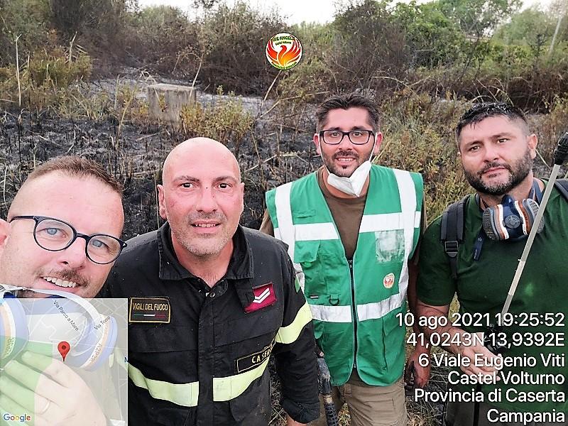 Photo 1628622524419 FIRE ANGELS CASTEL VOLTURNO: LIMPEGNO CONTRO GLI INCENDI BOSCHIVI