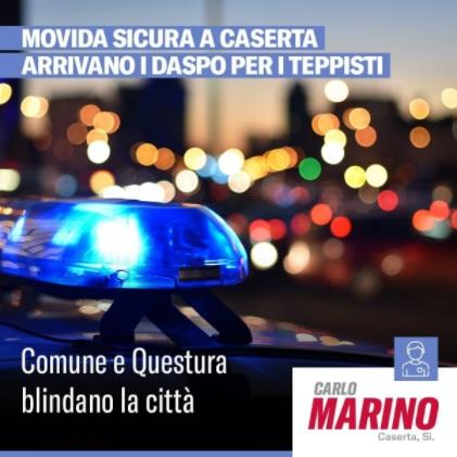 daspo MOVIDA VIOLENTA A CASERTA, IL SINDACO MARINO: ADDOLORATO PER LE DUE GIOVANI VITE DISTRUTTE