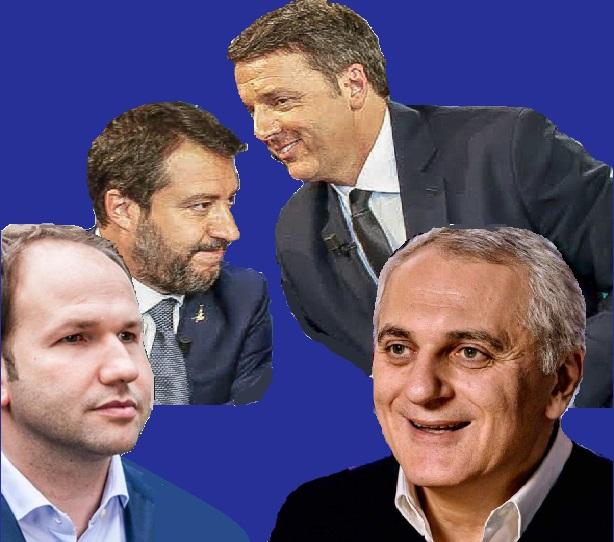 politica  AMMINISTRATIVE, LEGA E ITALIA VIVA & I SIMBOLI PEZZOTTI