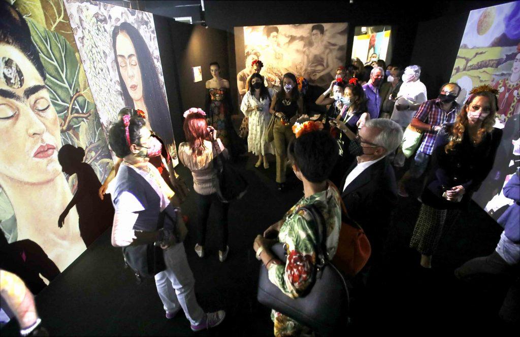 Frida Kahlo Il Caos Dentro Napoli  1024x664 NAPOLI, A PALAZZO FONDI LA MOSTRA DEDICATA A FRIDA KAHLO