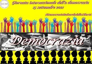 Locandina Giornata internazionale della democrazione 2021 300x209 XIV GIORNATA MONDIALE DELLA DEMOCRAZIA, LINVITO DEL CNDDU ALLA RIFLESSIONE