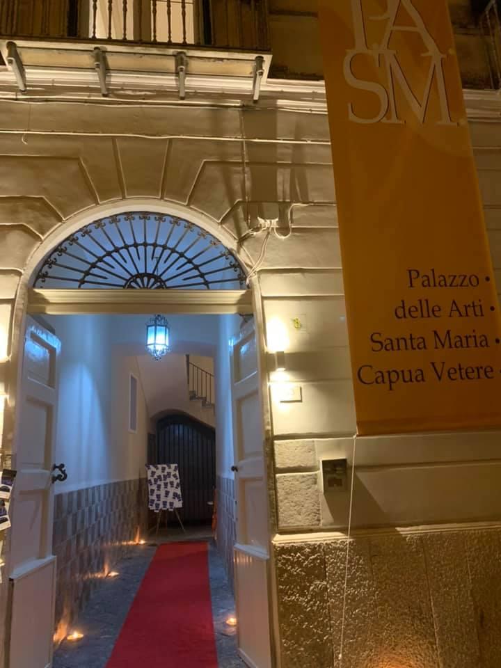 Pasm Inaugurazione2 SANTA MARIA CAPUA VETERE, INAUGURATO PALAZZO DELLA ARTI, AVETA:NUOVO SPAZIO PER LA CULTURA