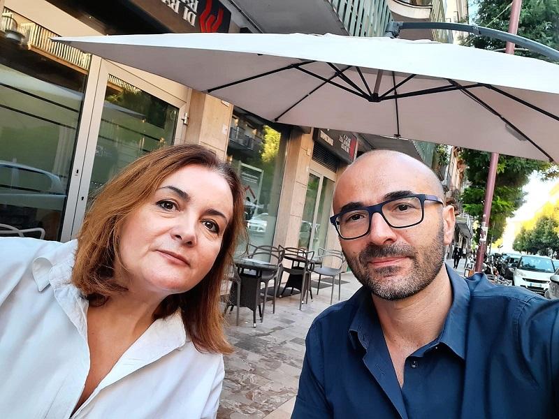 Roberto Caiazzo Nunzia Miccolupi CAPUA, CADE LAMMINISTRAZIONE BRANCO. LINTERVENTO DEL M5S