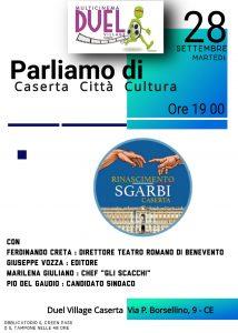 %name PIO DEL GAUDIO AL DUEL DI CASERTA IL 28 SETTEMBRE