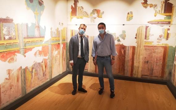 Zuchtriegel Ranieri MATT 15092021 GABRIEL ZUCHTRIEGEL, DIRETTORE DEL PARCO ARCHEOLOGICO DI POMPEI, IN VISITA AL MUSEO DI TERZIGNO ANNUNCIA ULTERIORE AMPLIAMENTO DEL MATT