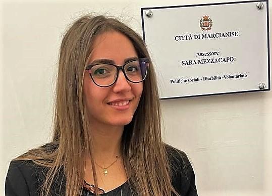 assessore Sara Mezzacapo MARCIANISE, RIAPERTI I TERMINI DEL BANDO DEI BUONI SPESA PER I PENSIONATI