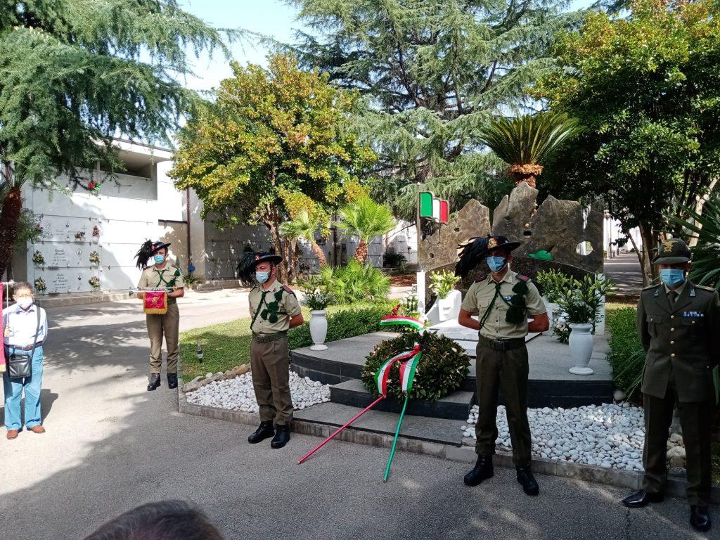 cerimonia cardella1 1024x768 CASAPULLA, CERIMONIA IN MEMORIA DI VINCENZO CARDELLA