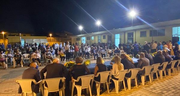 cimmino2 Amministrative S. Tammaro, bagno di folla alla presentazione di Uniti per il Futuro con Cimmino sindaco