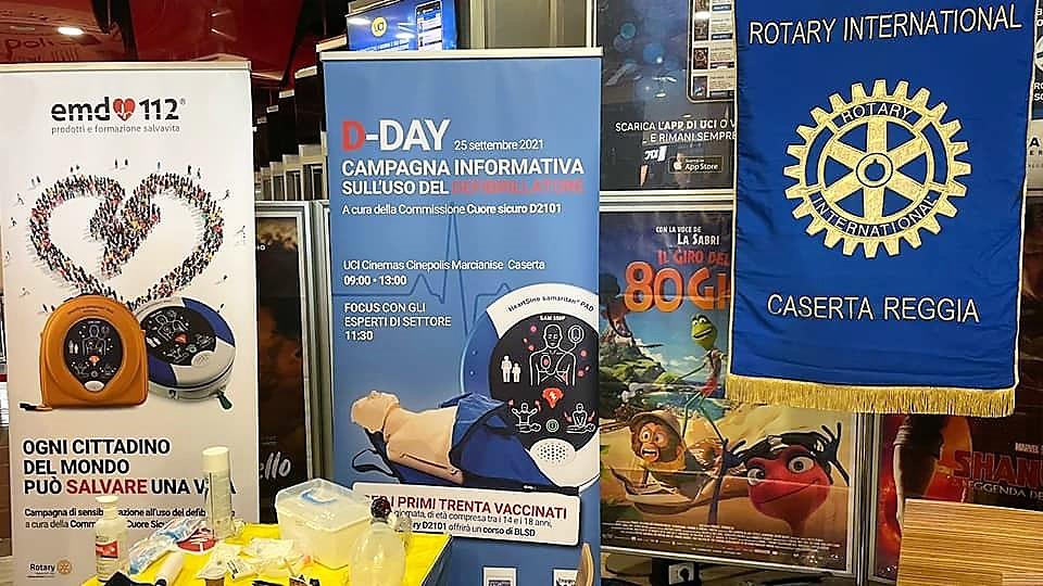 rcr ROTARY CLUB CASERTA REGGIA: DDAY OPERAZIONE CUORE SICURO