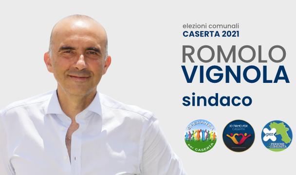 vignola ELEZIONI CASERTA, LA RICETTA DI ROMOLO VIGNOLA: COMPETENZA E SPIRITO DI SERVIZIO
