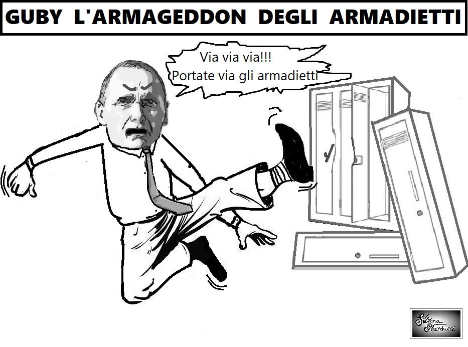 GUBY ARMAGEDDON OSPEDALE, GUBITOSA URLA, PONTICIELLO FA I CAPRICCI E MENSORIO STUDIA DA INGEGNERE