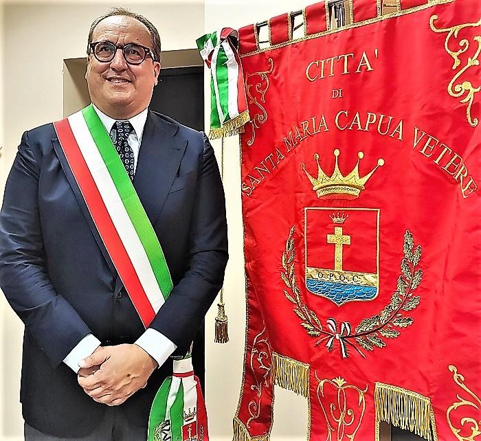 Proclamazione Sindaco Antonio Mirra SANTA MARIA C.V.   LE PAROLE DI MIRRA, RICONFERMATO SINDACO AL PRIMO TURNO